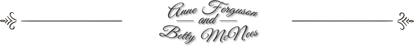 Anne Ferguson - Betty McNees Logo